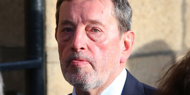 MP David Blunkett, arrives for the funeral of MP Paul Goggins at Salford Cathedral, Salford.