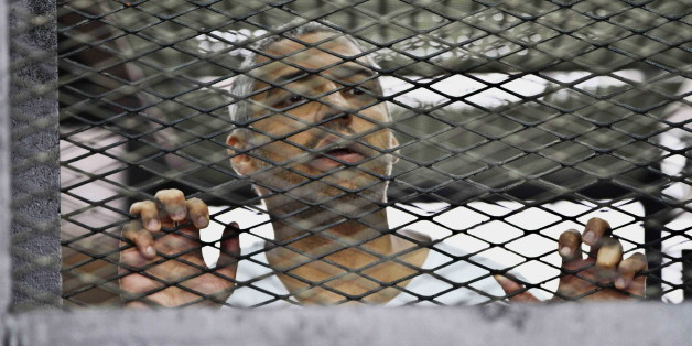 Canadian Al Jazeera journalist Mohamed Fahmy is pleading with Prime Minister Stephen Harper to speak with Egyptian President Abdel-Fattah el-Sissi to release him.