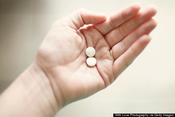pill hand