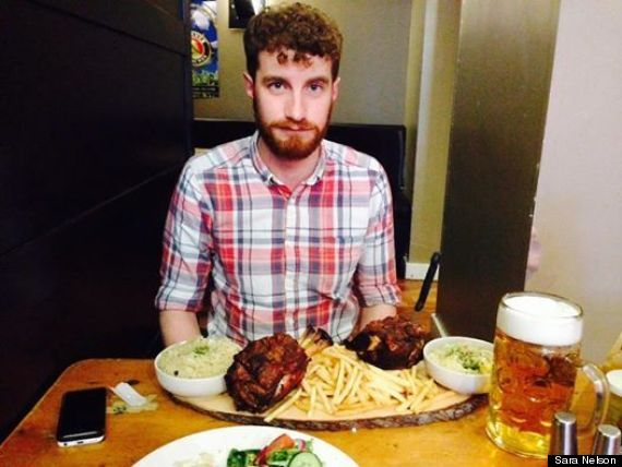 pork knuckle challenge