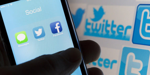 Facebook and Twitter icons as seen on an iPhone5 mobile phone. PRESS ASSOCIATION Photo. Picture date: Tuesday December 10, 2013. Photo credit should read: Chris Ison/PA Wire.