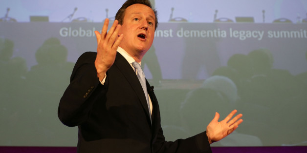 Prime Minister David Cameron speaking at the first Global Dementia Legacy Event, at the Guildhall in central London.