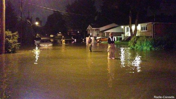 inondation ile bizard