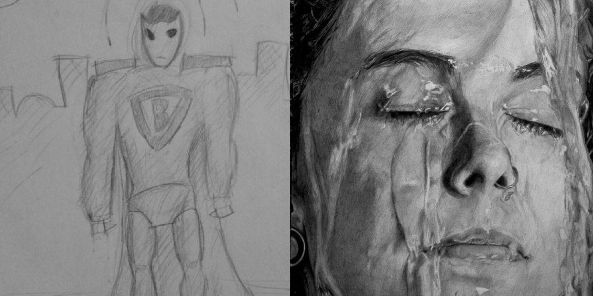 Uncategorized Picture Of Drawings these amazing before and after drawings show the real value of practice huffpost