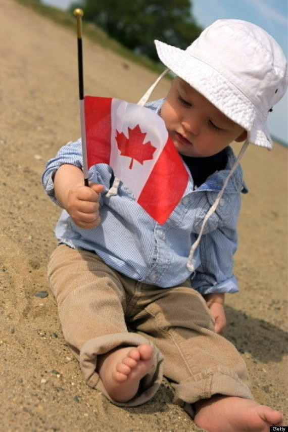 canada day baby