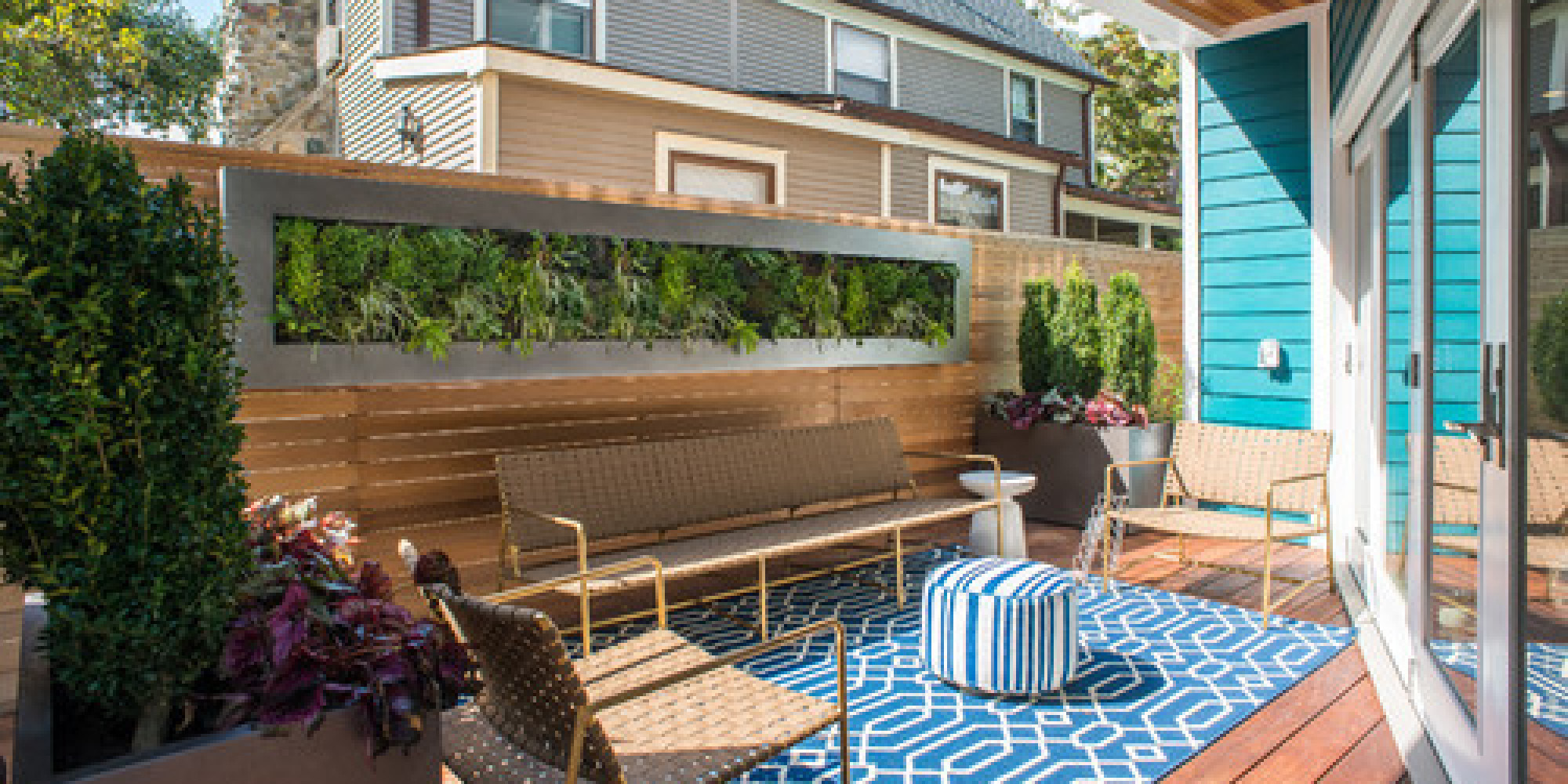 16 Ways to Get More from Your Small Backyard | HuffPost on Small Backyard Renovations id=68962