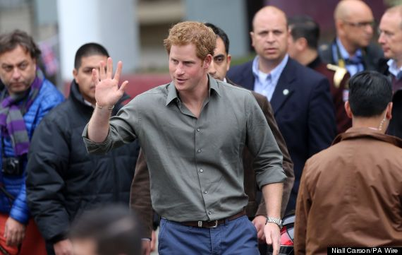 prince harry chile