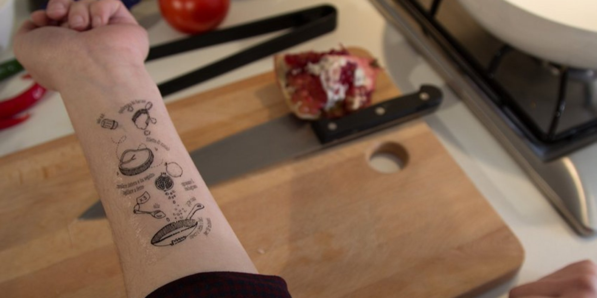 I Tradizionali Takes Culinary Tattoos To A Whole New Extreme | HuffPost