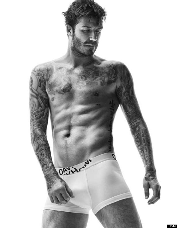 David Beckham Poses In His Underwear For New H&M Bodywear Photos, Looking As Hot As Ever (PICS, VIDEO)