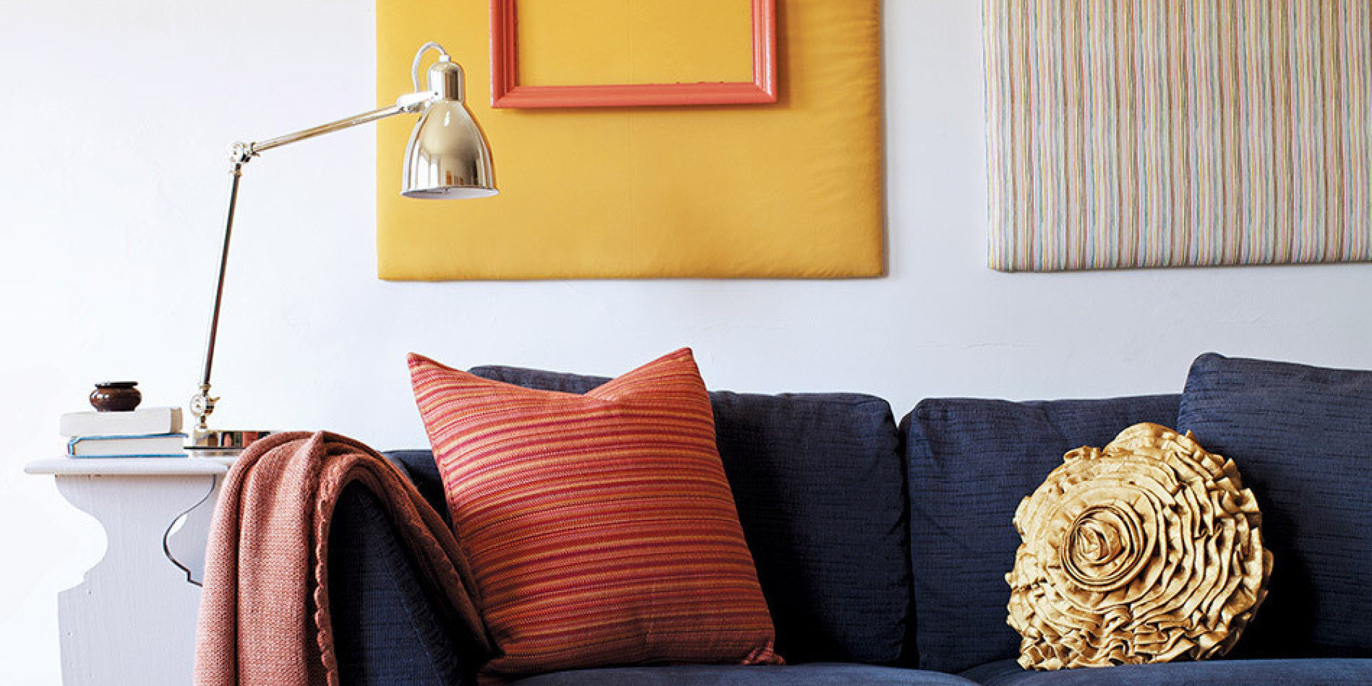 6 apartment makeover hacks that won 39 t annoy your landlord huffpost - Rental apartment decorating ideas ...