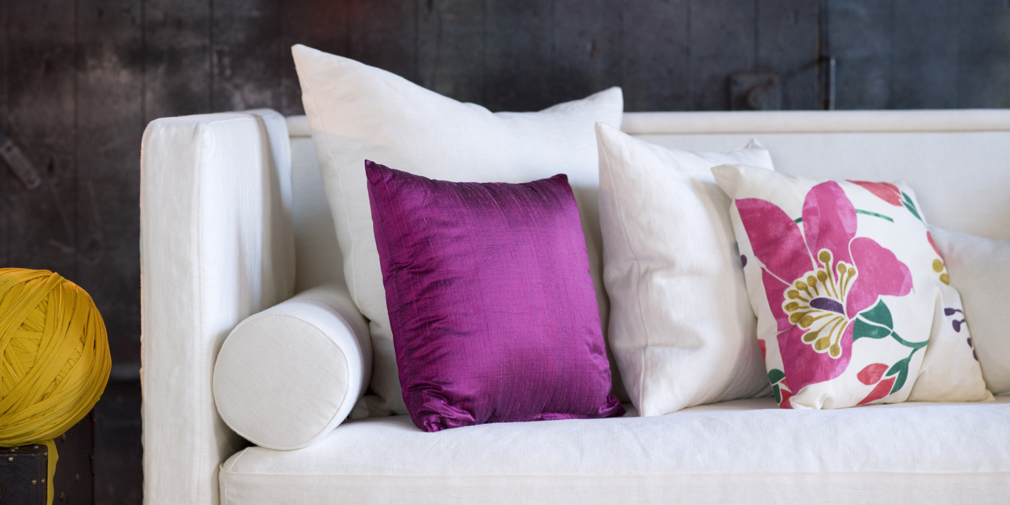 Throw Pillows 4 Tips to Style Your Sofa