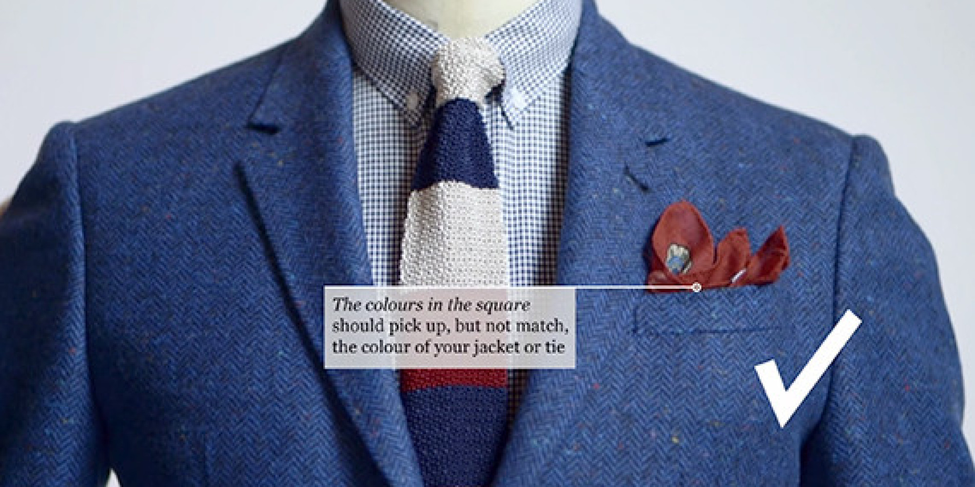 Learn How To Fold A Pocket Square Just In Time For All Of Those Summer Weddings Huffpost