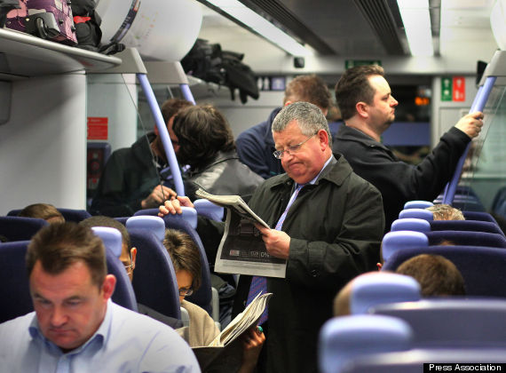 commuters train