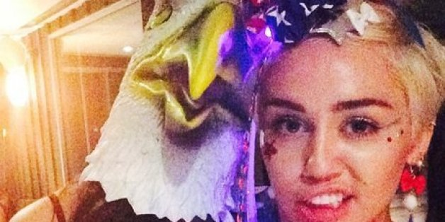 Miley Cyrus' Fourth Of July Got Just As Weird As You Thought It Would