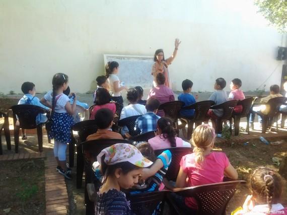 atelier enfants cervantès