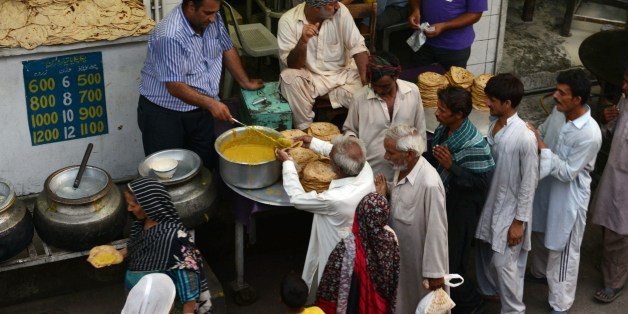 Image result for muslims charity during ramadan