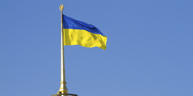 Ukraine Nationalist Flags Insignia And Curious Symbolism Huffpost