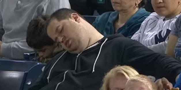 Dude Who Fell Asleep During Yankees Game Suing MLB, ESPN For $10 Million
