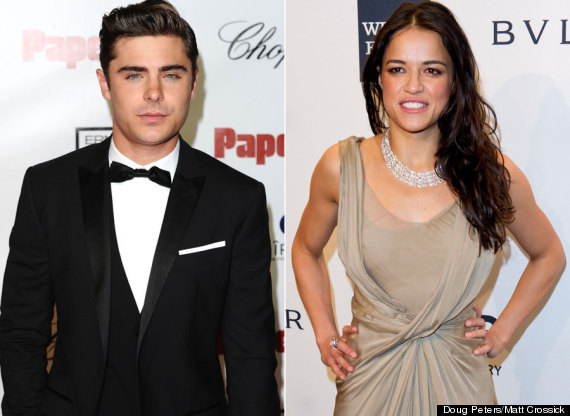 Zac efron dating michelle rodriguez