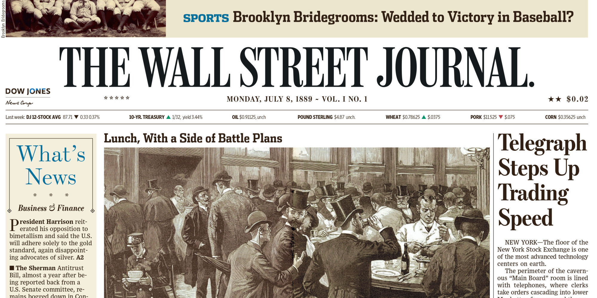 1993 and wall street journal Follow the latest wall street journal news on stock markets, finance, banks, hedge funds and private equity, with quotes for stocks, stock indexes and etfs.