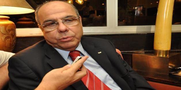 Mohamed Raouraoua, président de la Fédération Algérienne de Football (FAF)