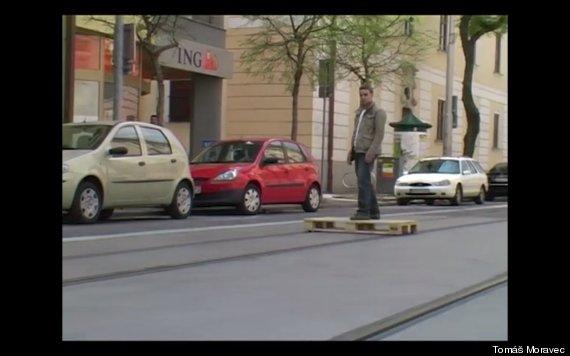 tram skateboard