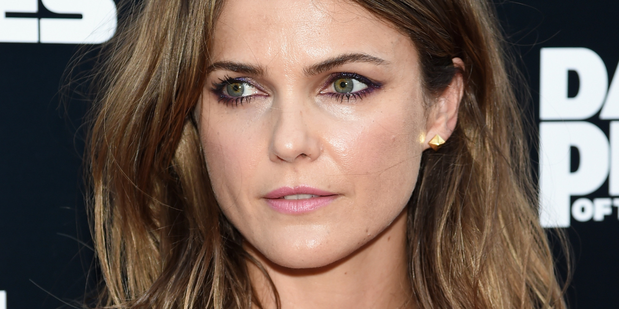 keri russell hits the red carpet in a see-through top | huffpost