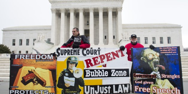 Buffer zones outside of abortion clinics are disappearing after the Supreme Court ruled a Massaschusetts buffer zone unconstitutional.