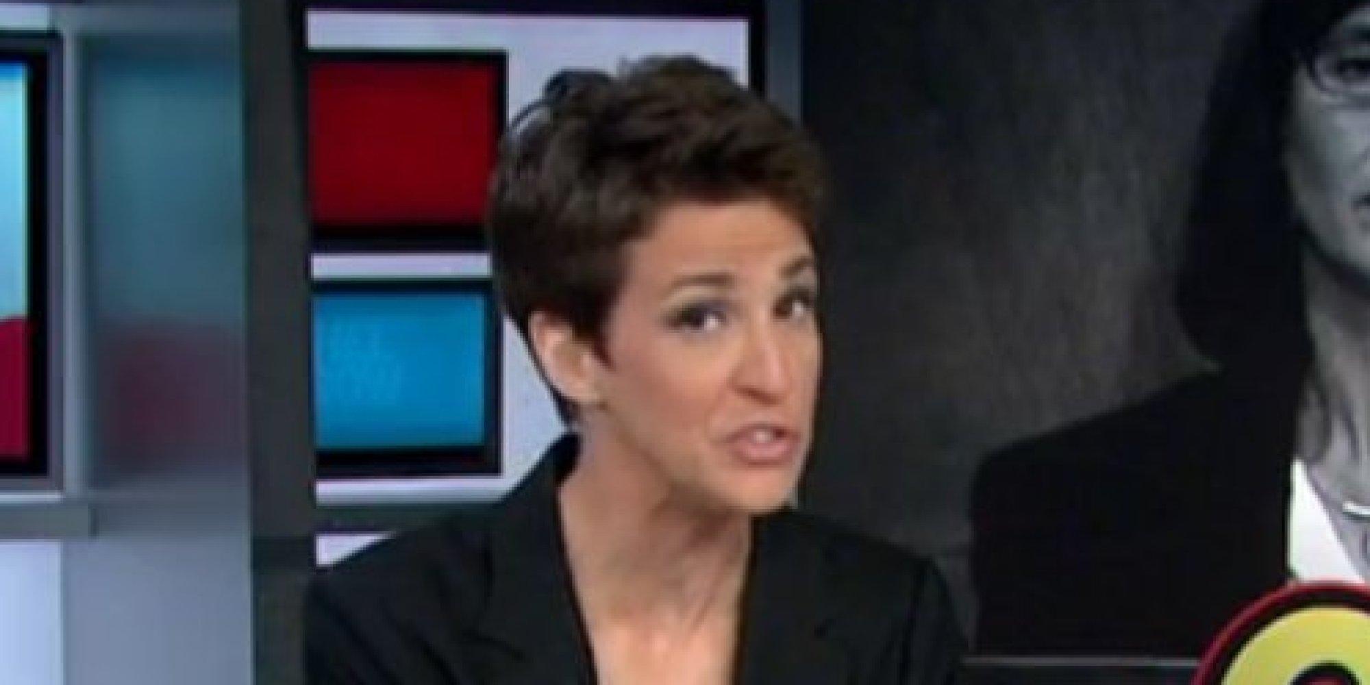 Rachel Maddow Laughs At John Mccains Amazing Moment Huffpost