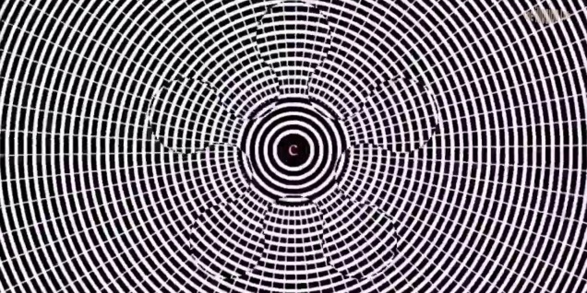 optical illusion hallucinate motion aftereffect really yes huffpost