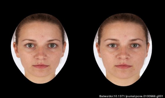 face attractiveness study