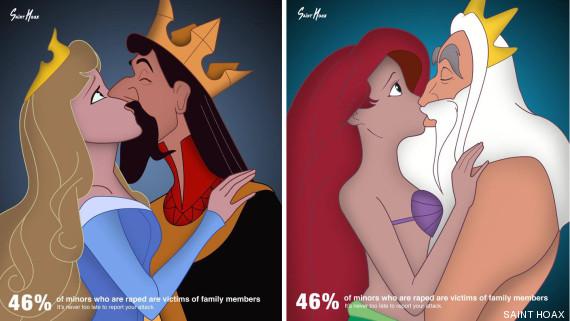 abuso princesas disney
