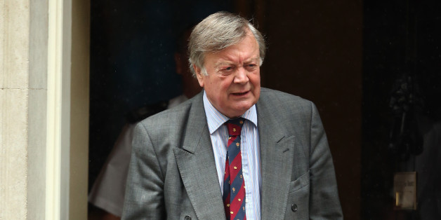 LONDON, ENGLAND - JUNE 03:  Ken Clarke leaves after the weekly cabinet meeting at 10 Downing Street on June 3, 2014 in London, England.  (Photo by Dan Kitwood/Getty Images)