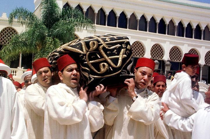 enterrement du roi hassan ii