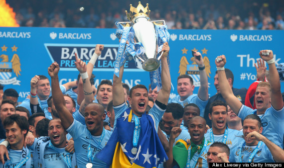 manchester city trophy