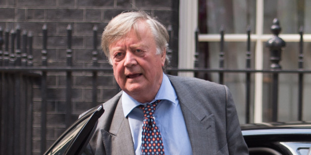 Minister without Portfolio Ken Clarke arrives at 10 Downing Street in London as David Cameron is putting the final touches to a reshuffle that is expected to see more women promoted into key positions.