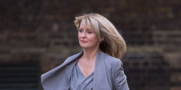 Minister for Employment and Disabilities Esther McVey arrives in Downing Street, London, as Prime Minister David Cameron starting putting his new ministerial team in place.