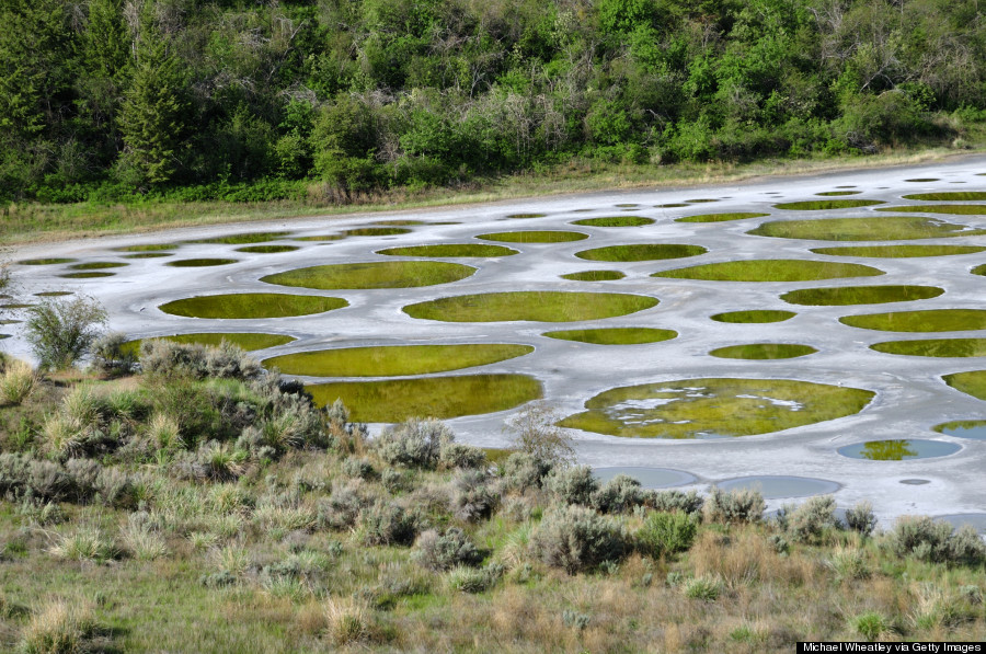 spotted lake bc