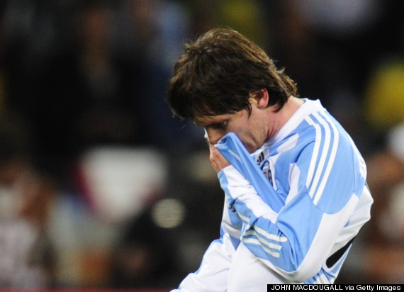 messi 2010 world cup