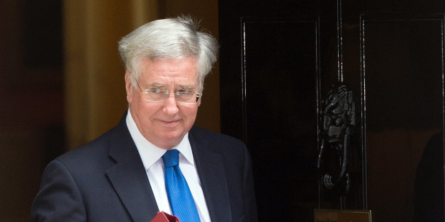 Newly appointed Defence Secretary Michael Fallon leaves Downing Street, London, as Prime Minister David Cameron starting putting his new ministerial team in place.