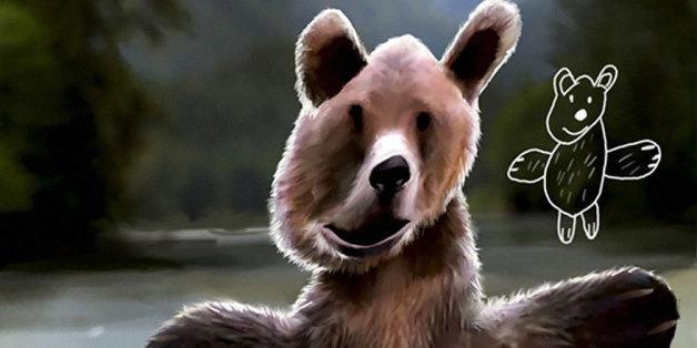 Telmo Pieper recrée ses dessins d'enfance grâce à Photoshop