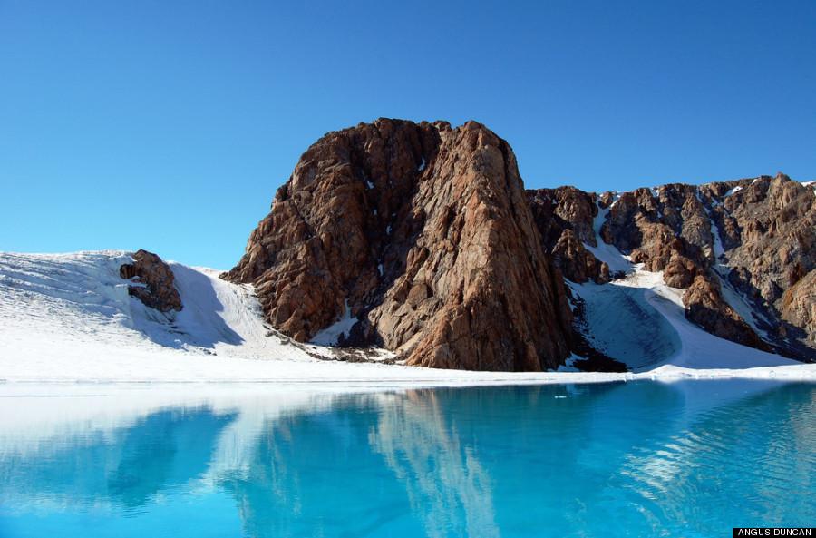 melted glacier