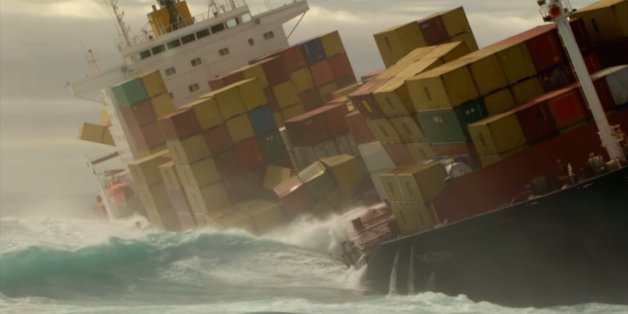 Thousands Of Containers Fall Off Ships Every Year What Happens To