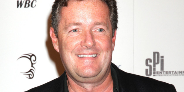 Piers Morgan during 'Mike Tyson: Undisputed Truth Live' show at the Hollywood Theatre, MGM Grand Hotel and Casino, Las Vegas