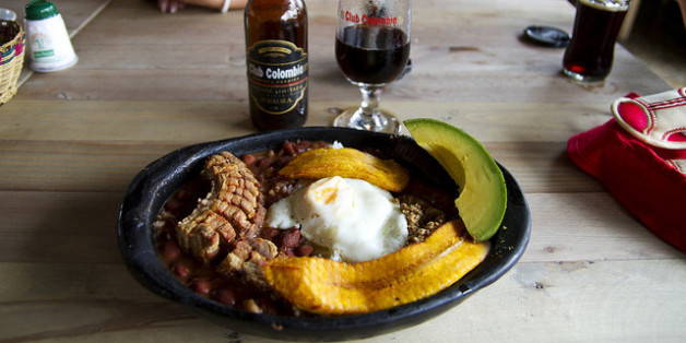 'La Bandeja Paisa' can be found practically anywhere in the country, though the hearty dish originate in the Antioquia department.
