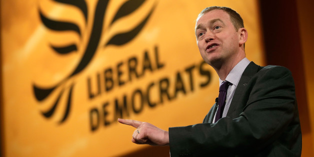 BRIGHTON, ENGLAND - MARCH 10:  Tim Farron, President of the Liberal Democrats makes a speech at the Liberal Democrats Spring Conference on March 10, 2013 in Brighton, England. Deputy Prime Minister Nick Clegg delivered his keynote speech bringing the three day conference to a close. (Photo by Matthew Lloyd/Getty Images)