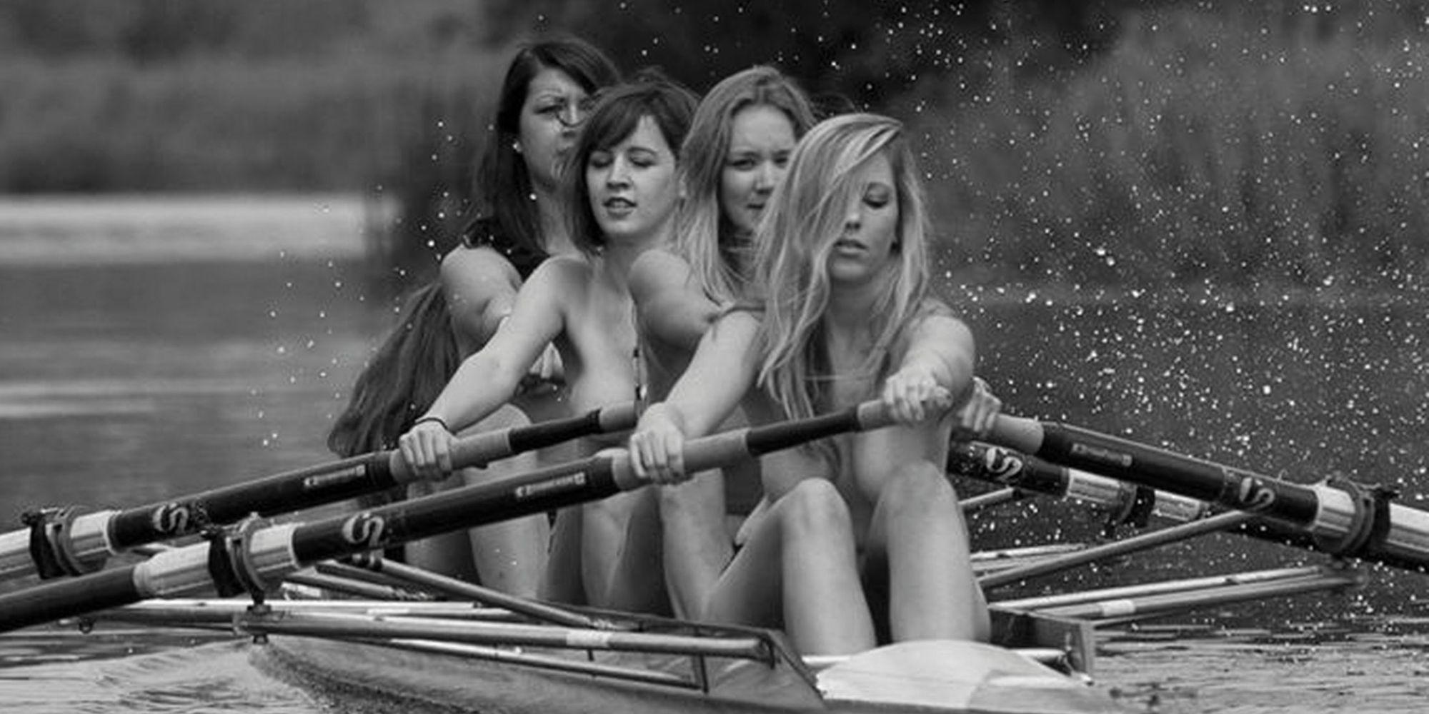 Girls nude naked calendar charity