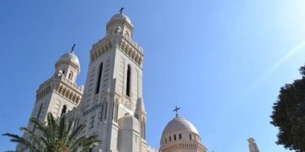 La Basilique de Saint Augustin à Annaba, après sa rénovation, octobre 2013