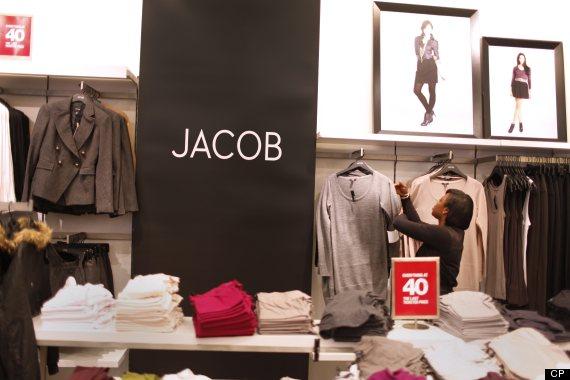 jacob fashion retail