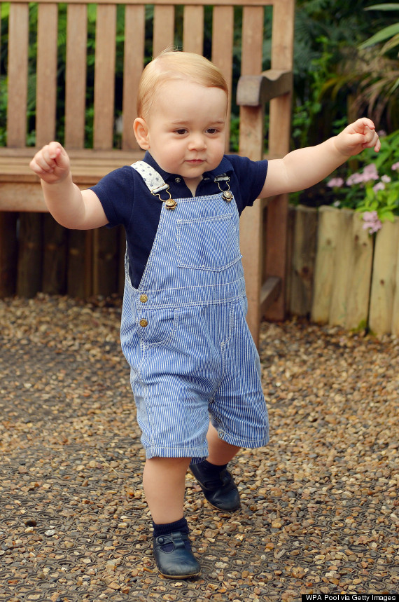 Happy Birthday Prince George: Future King Turns One On July 22